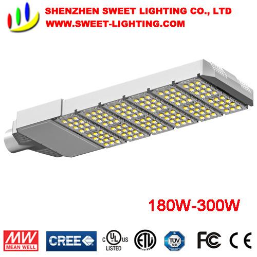 30W-300W IP65 LED Street Light with Marine Salt&Wind Resistance
