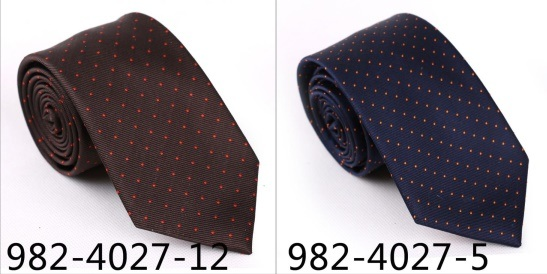 New Design Men′s Fashionable DOT Silk/Polyester Necktie (4027-5)