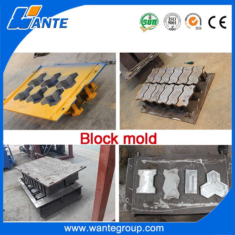 Qt6-15c Concrete Brickwall Making Machine, Automatic Paver Block Machine