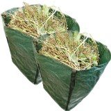 Large Pop up Garden Tidy Leaves Grass Hedge Waste Cuttings Bag with Carry Handles