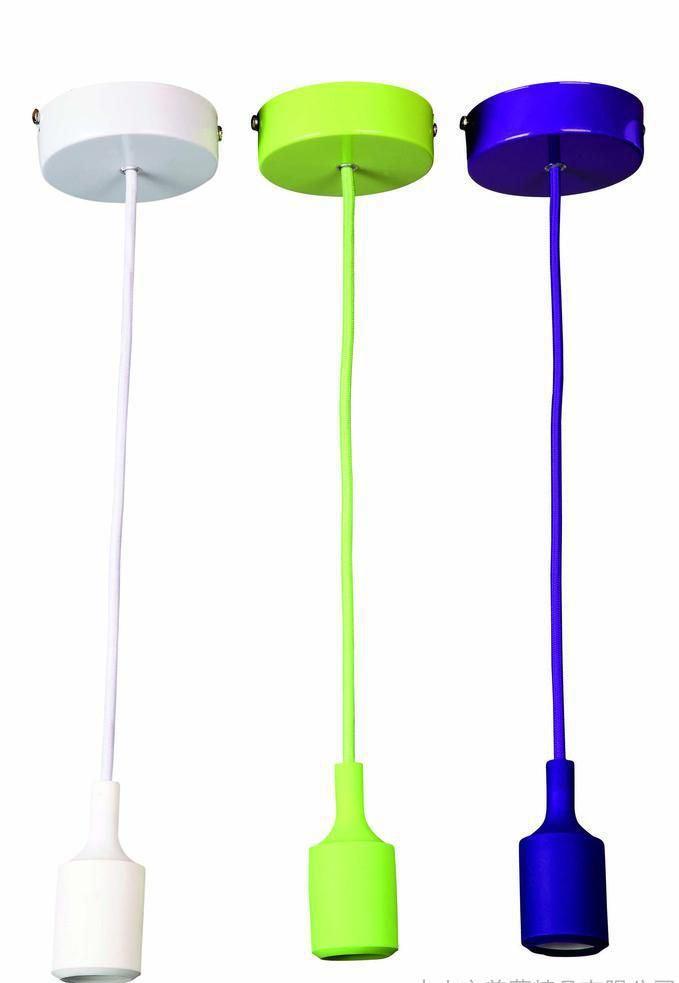 Silicone Pendant Lamp Cord Set