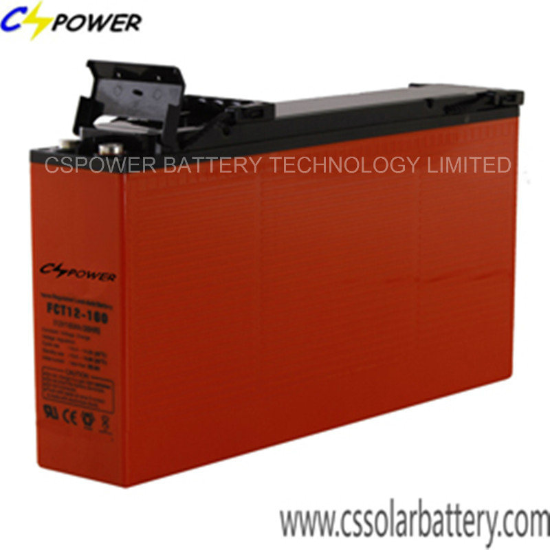 Manufacturer Front Terminal Lead Acid Battery Ft12-150/155 for Solar Storage