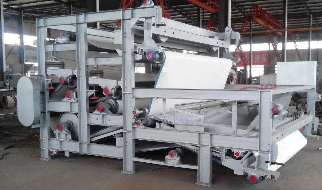 Belt Filter Presses Thickener Machine Dewaterer Pulp / Sludge