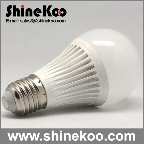 Aluminium Plastic E27 8W 10W 12W LED House Bulb