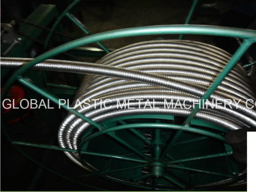 Stainless Steel Flexible Bellow Manufacturing Machine for Gas Hose