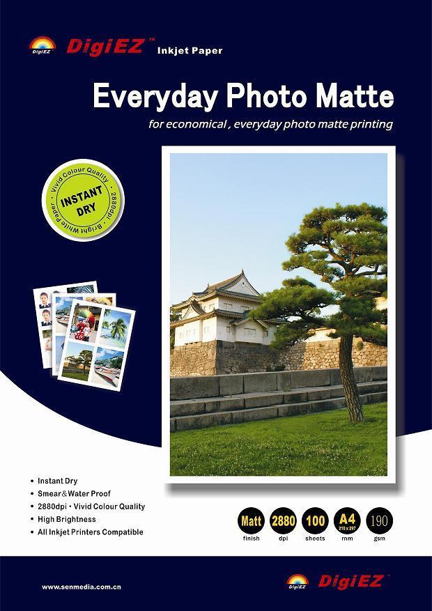 190g Everyday Matte Inkjet Paper