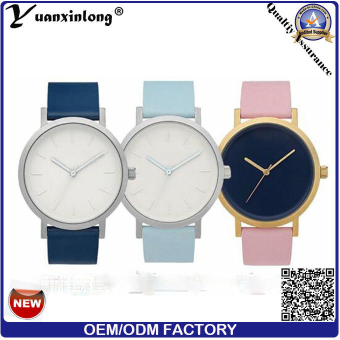 Yxl-672 2016 New Arrival Marble Face Watch Custom Brand Your Own Watches in The Horse Watch