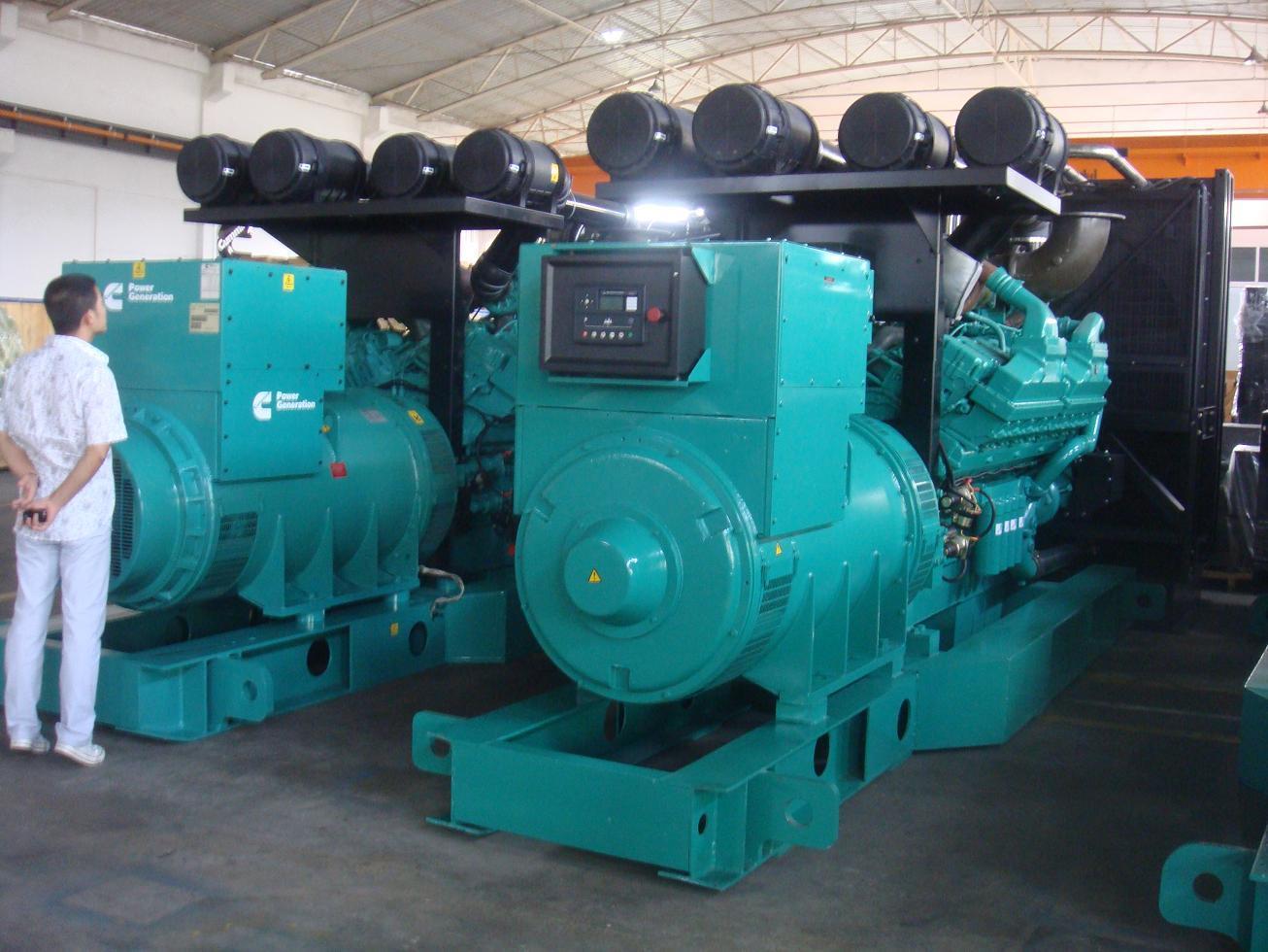 1600kw 2000kVA USA Cummins Diesel Generator Standby 2250kVA 1800kw
