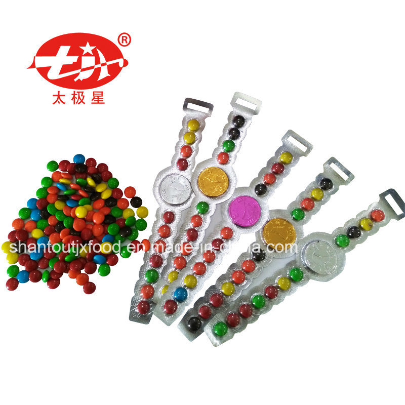 Plastic Packing Chocolate Coin Watch