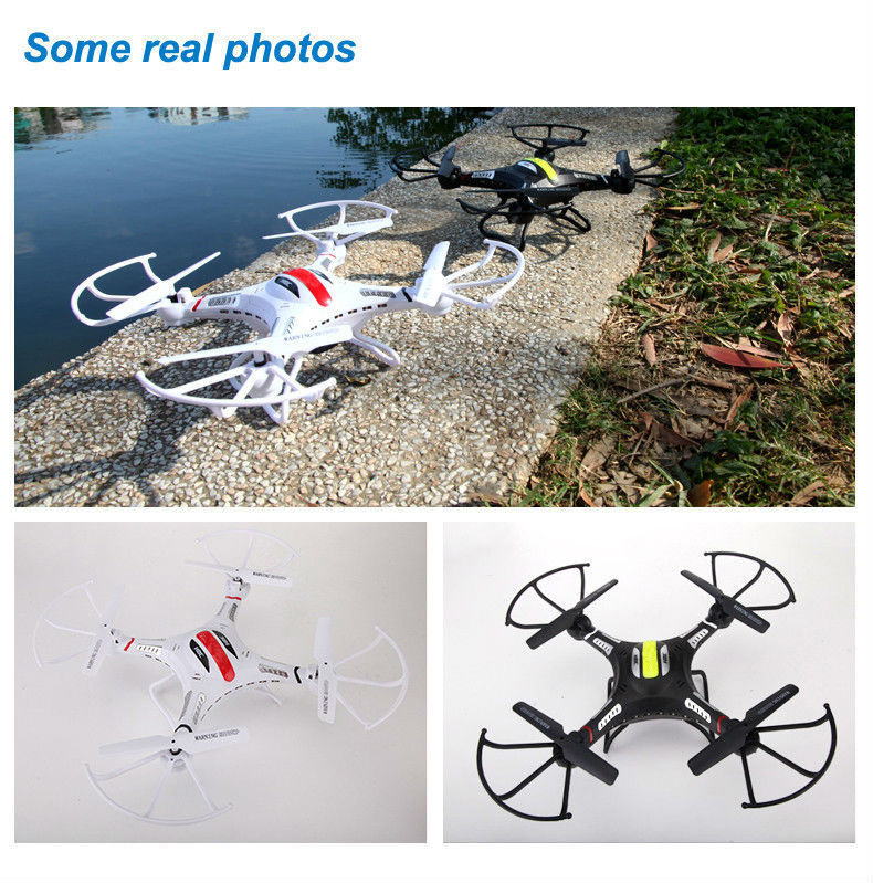 F183 RC Quadcopter RC Drone (with HD camera selected) , 2.4GHz 6 Axis 4CH Remote Control Helicopter Explorers