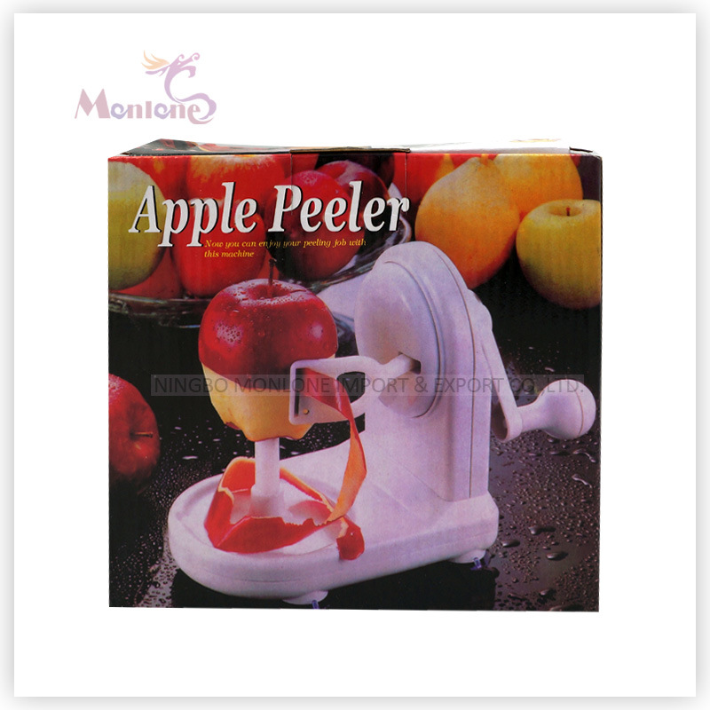 345g Fruit Tools, Apple Slicer Cutter, Manual Plastic Pear/Apple Peeler