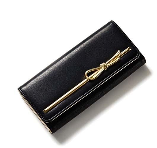 Factory Wholesale Women Fashion Leather Wallet Leisure Purse Bag (XQ0702)