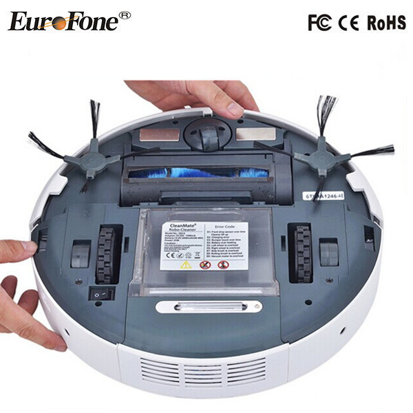 2016 Newest Robot Vacuum Cleaner with Remote