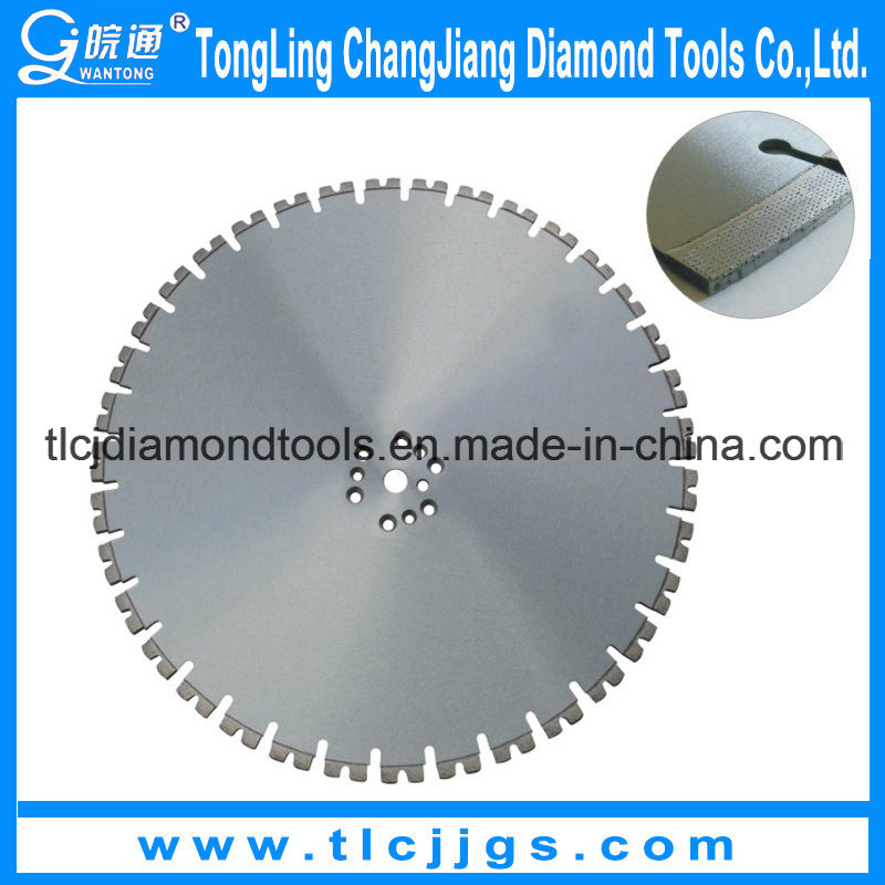 Laser Welded Diamond Wall Saw Blades/Line up Diamond Saw Blades