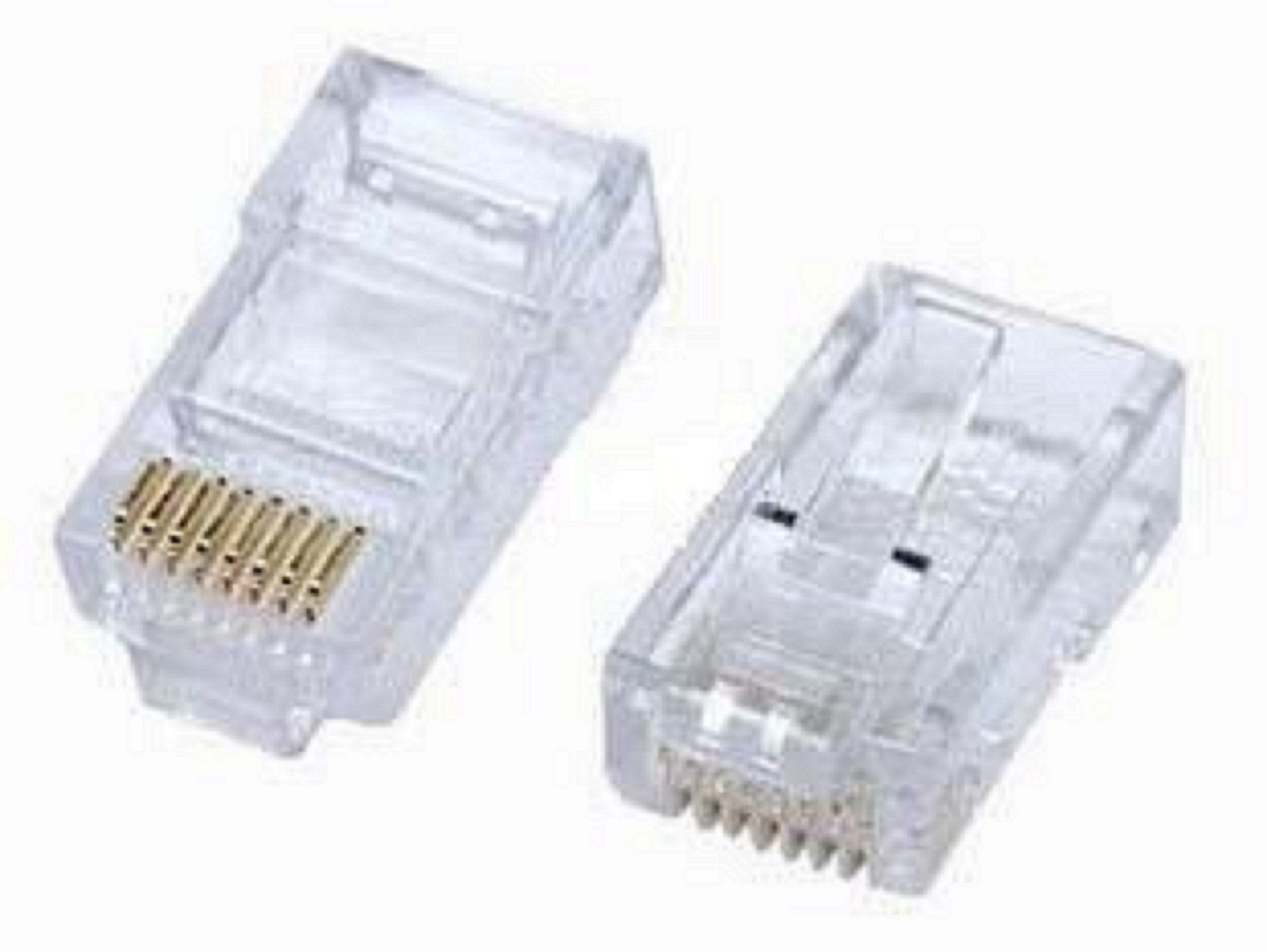 RoHS Approved UTP Cat5e Connector RJ45