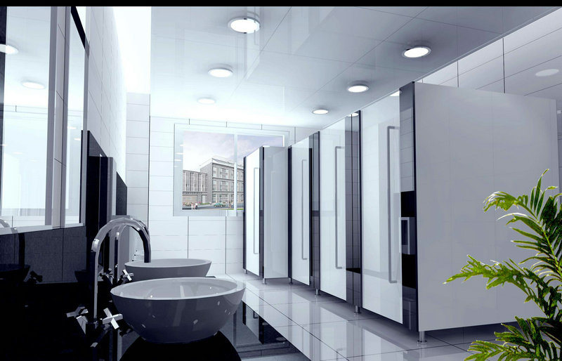 Fashionable in Design Compact Public Toilet Cubicle Partition. China Fashionable in Design Compact Public Toilet Cubicle