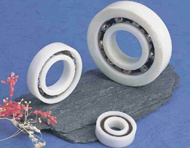 Full Plastic Ball Bearings for Use Under Water