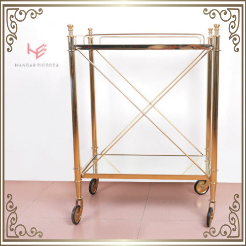 Trolley (RS150503) Liquor Cart Trolley Stainless Steel Furniture