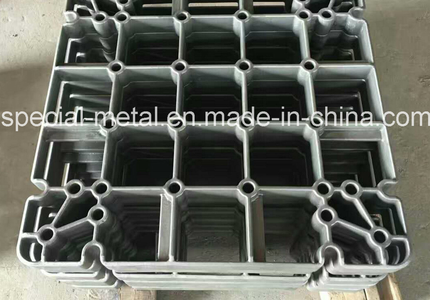 Precision Casting HK40 HP40 Heat Treatment Furnace Tray