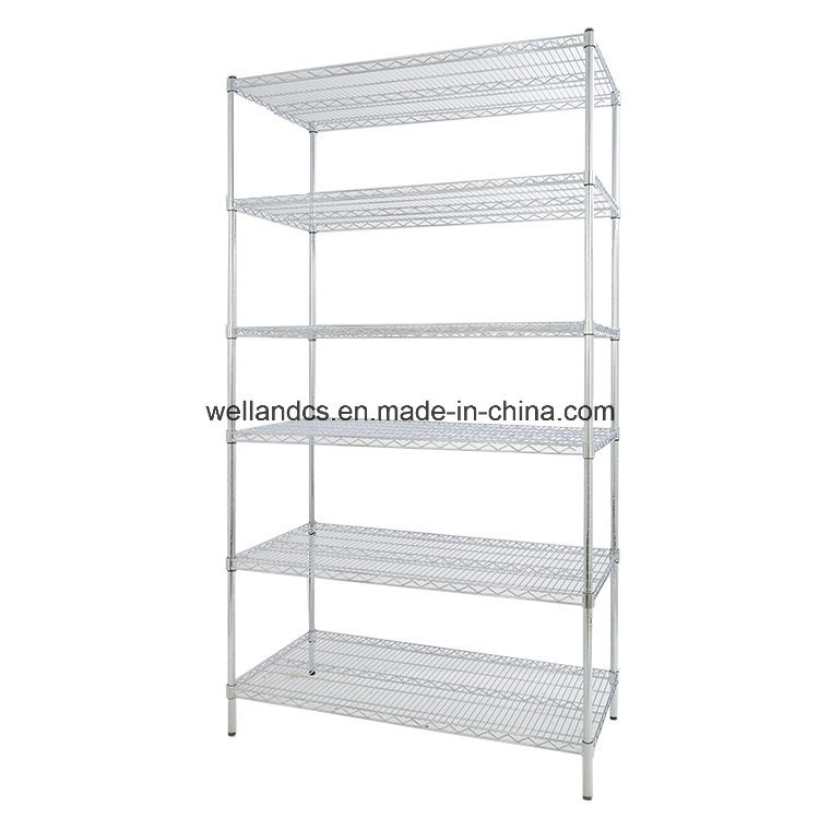 OEM Metro Store Heavy Duty Chrome Wire Shelving Factory