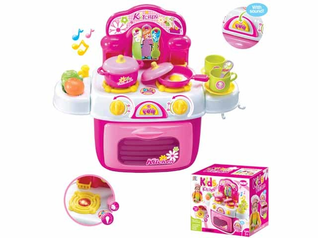 Kids Pretend Play Kitchen Toy Plastic Children Toy (H0535164)