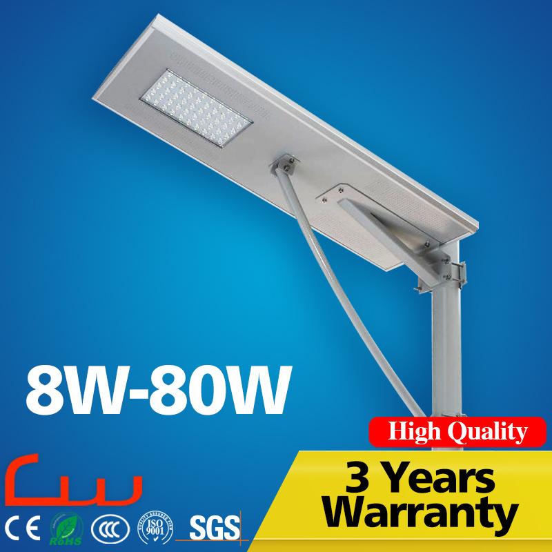 Outdoor 30W 5m Integrated LED Solar Street Light