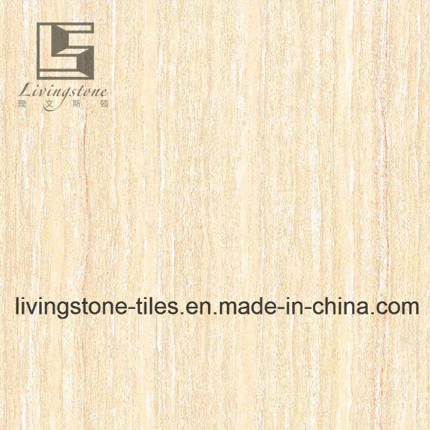 Yellow Line Stone Polished Porcelain Tile