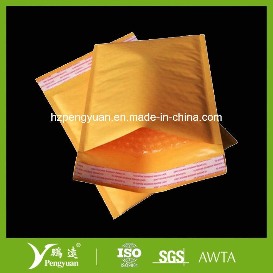 Metallic Bubble Mailer for Cosmetic and Clothes Shipping