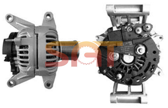 Bosch Alternator for Caterpillar 0124655076