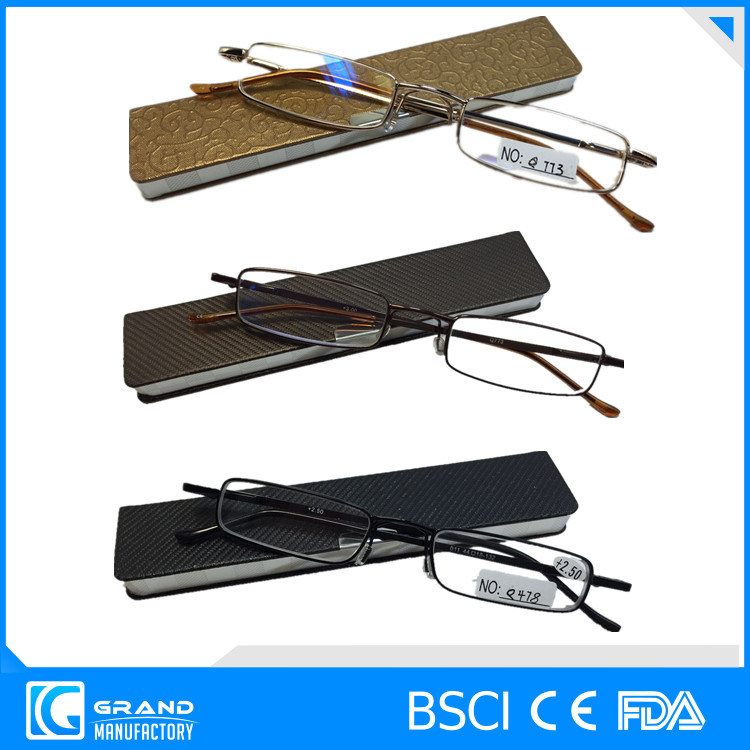 High Quality Metal Reading Glasse Mini Pocket Reading Glasses