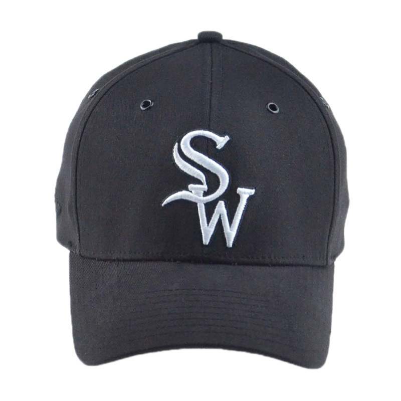 Wholesale Red/Black 6 Panels Cotton Hip Hop Baseball Cap Golf Cap