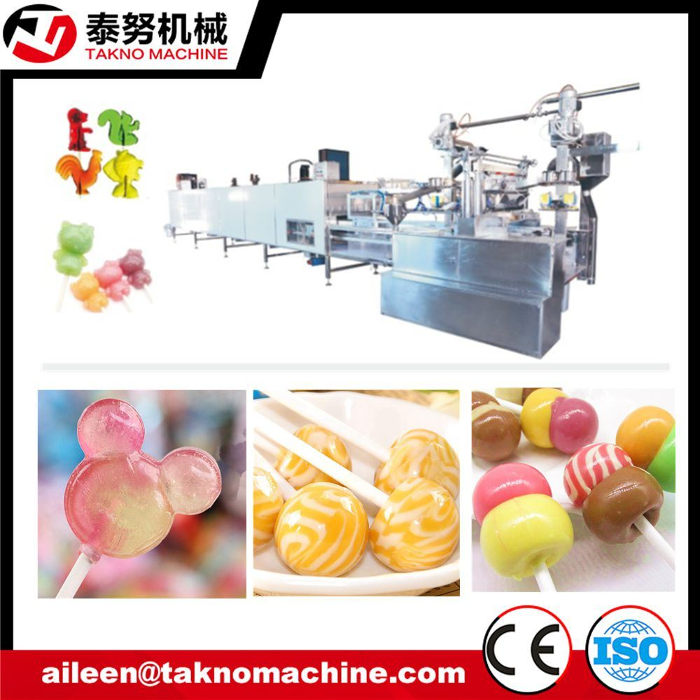 Complete Automatic Candy Lollipop Machine