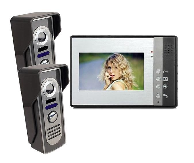 Wired Video Door Phone Video Doorbell with Intercom System