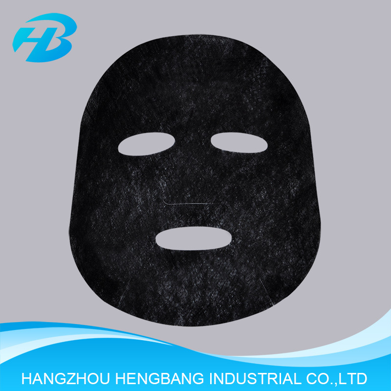 Paper Black Face Mask Cosmetic for Facial Skin Beauty Product