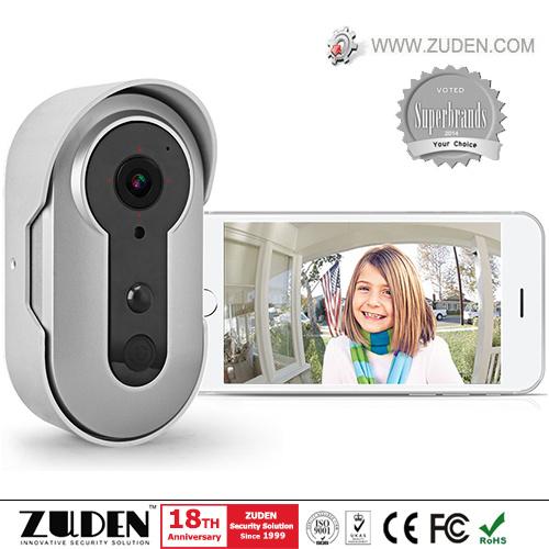 2017 Newest WiFi Video Doorbell with PIR Sensor & Rechargeable Battery