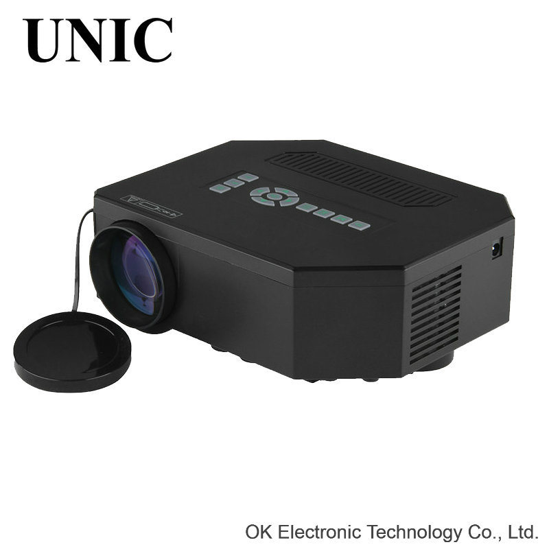 Original Unic UC30 LED Mini Portable HDMI USB Video Pico LCD HD Home Theater Projector Beamer