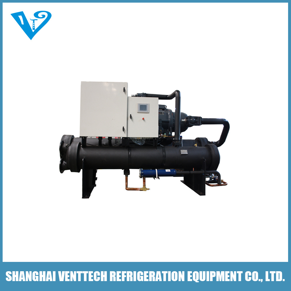 -35c Double Compressor Low Temperature Water Cooled Screw Chiller