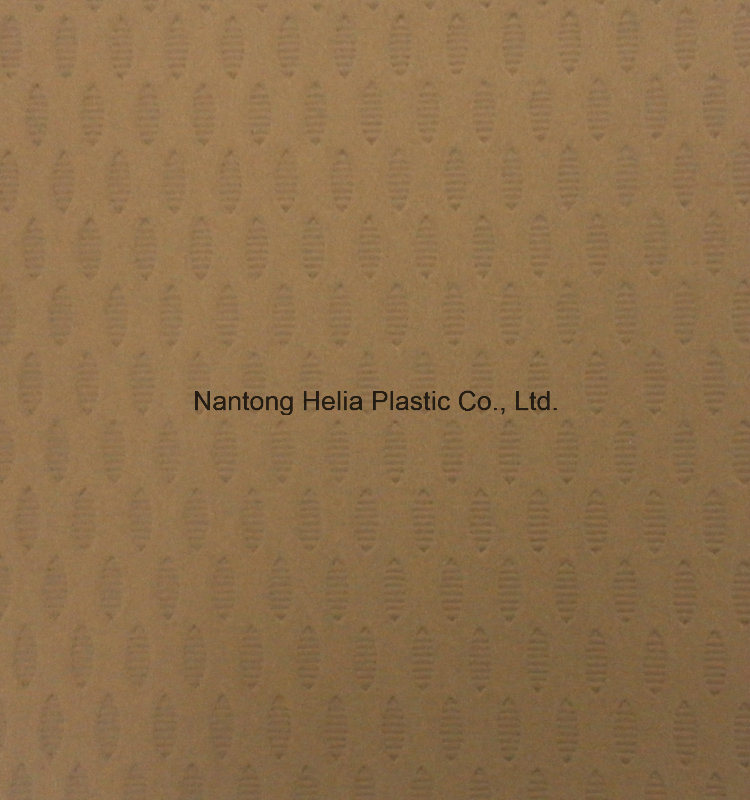 Chinese Factory PU Nubuck Leather for Shoes and etc