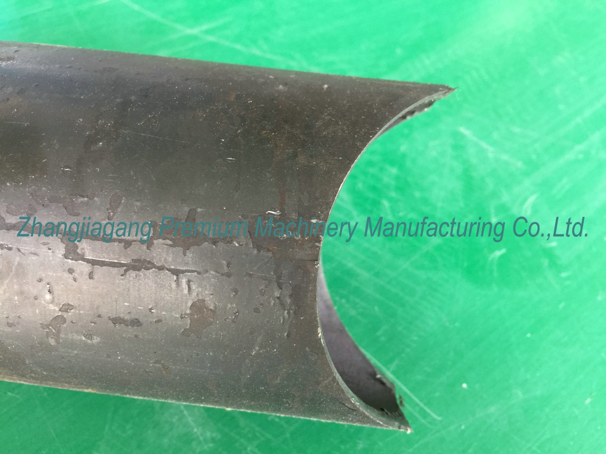Pipe Profile Shape Forming Plm-CH100 Pipe End Arc Punching Machine