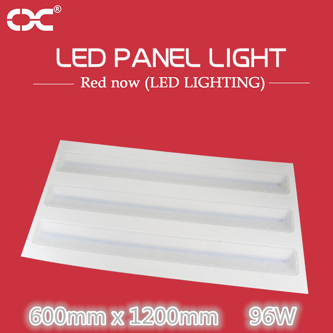 96W 600*1200mm LED Rectangle Ceiling Light Panel Lighting