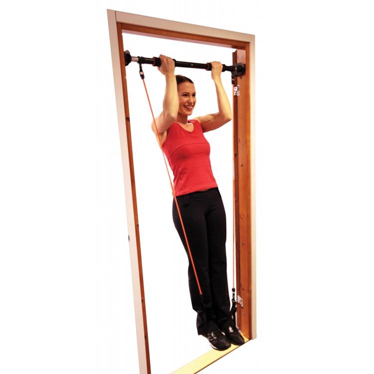 Door Gym Adjustable Horizontal Chin up Bar