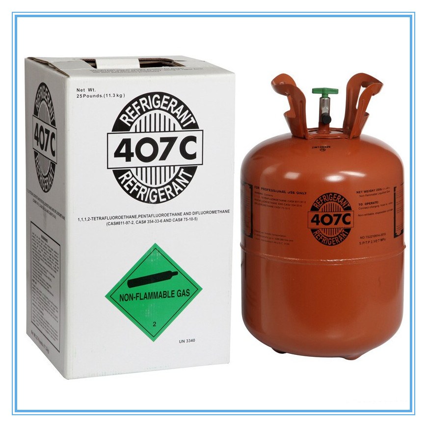 Refrigerant Gas R407c for Air Conditioner