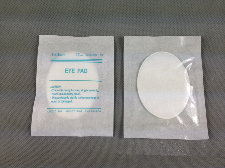 Eye Pad Mask Medical Use Surgical Dressing