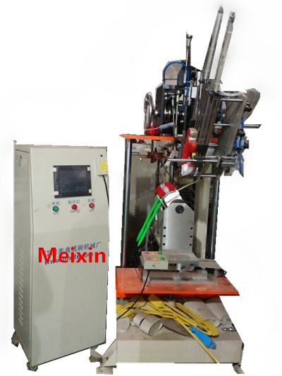 3 Axis Single Hocky Brush Machine/Hair Brush Machine/Brush Making Machine