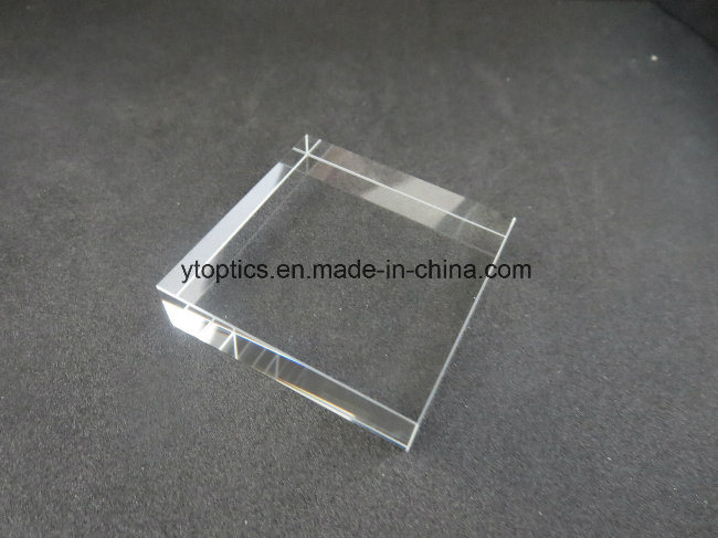 in Stock Bk7 Cube Windows 50*50*12mm Polished Cube