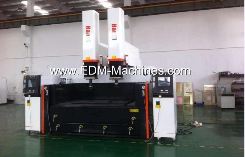 Double Head, Doubld Controller EDM Sinker Machine Dm1680-II