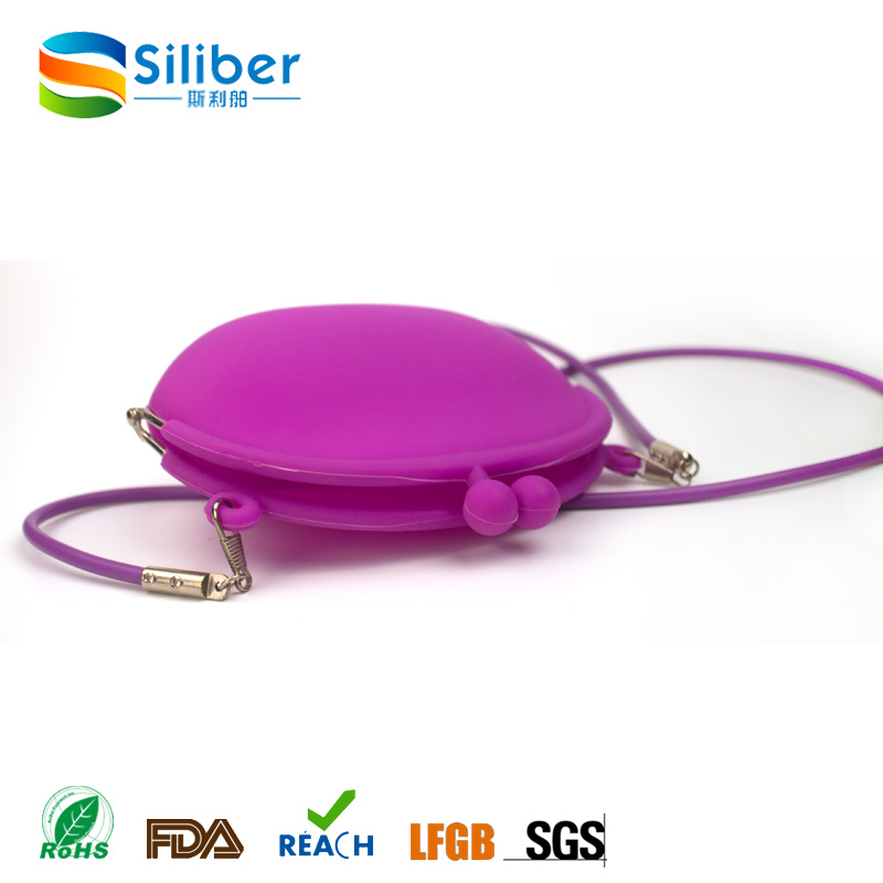 2016 Fashion Style Ladies Silicone Shoulder Bag