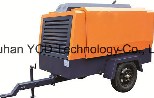 Diesel Driven Portable Screw Air Compressor (DSC 900E) for Mining, Shipbuilding, Urban Construction, Energy, Military and Industries