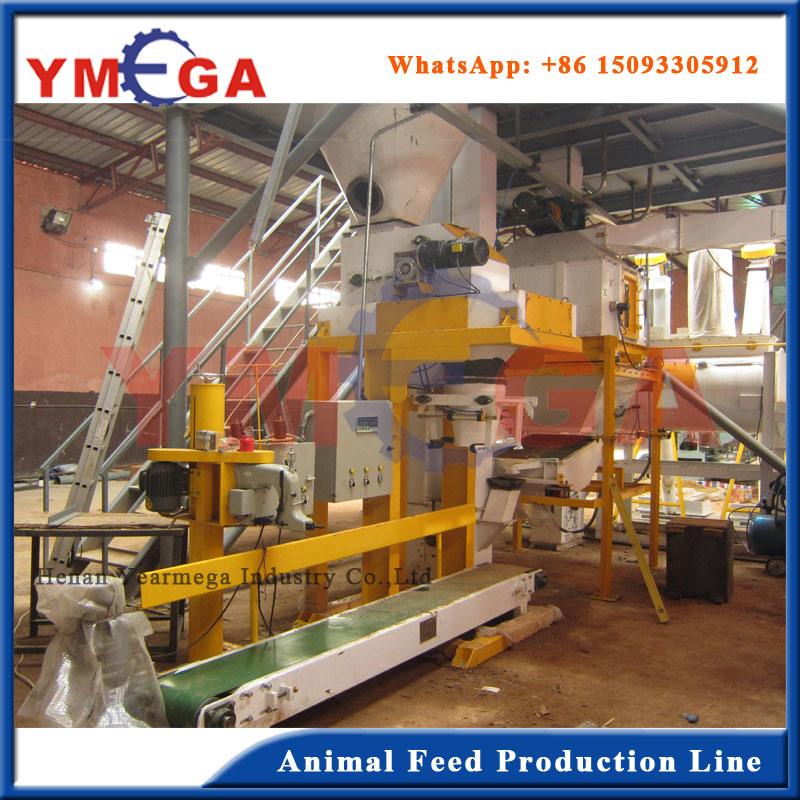 Turkey Plant Animal Feed Pellet Machine Production Line