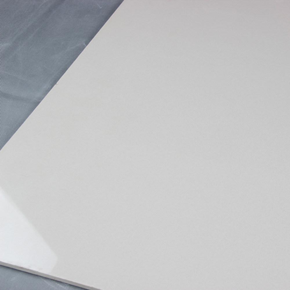 600X600mm Ceramic Building Material Ivory White Soluble Salt Polished Porcelain Floor Tile
